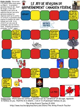 Le jeu de révision du gouvernement canadien fédéral - French UPDATED 2016