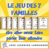Le jeu des 7 familles- être - aller - avoir - faire - parl