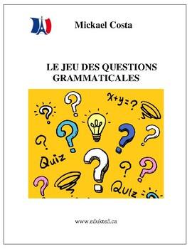 Le jeu des questions grammaticales à choix multiples  (#131)