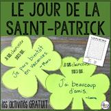 Le jour de la Saint-Patrick