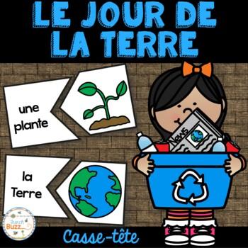 Jour de la Terre - 41 puzzles - French Earth Day