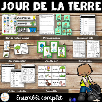 Jour de la Terre - Ensemble complet - French Earth Day - Bundle