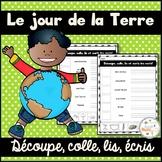 Jour de la Terre - découpe et colle - French Earth Day