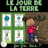 """Jour de la Terre - jeu amusant """"j'ai... qui a...?""""- French Earth Day"""