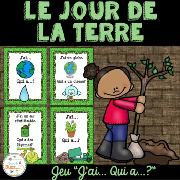"Jour de la Terre - jeu amusant ""j'ai... qui a...?""- French Earth Day"