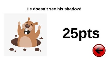 Groundhog Day Adaptable PowerPoint Game