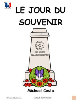 Le jour du souvenir, French immersion (#120)