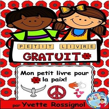 Le jour du souvenir (Gratuit, Mon petit livre pour la paix!), French, lecture