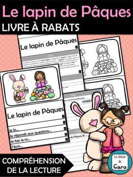Le lapin de Pâques - Compréhension de la lecture - Livre à rabats