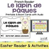 Le lapin de Paques French Easter Bunny Reader & timeline {en français}