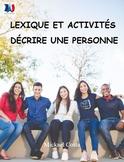 Le lexique pour décrire une personne, French Immersion (#78)