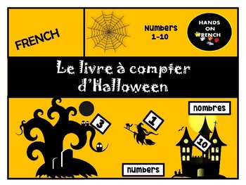 Le Livre A Compter D Halloween Counting Book