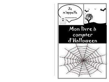 Le livre à compter d'Halloween - Counting book