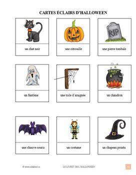Le livret de l'Halloween French Immersion (141)