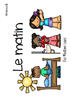 Le matin - Mini-livre pour lecture guidée (French guided reading)