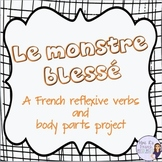 French reflexive verbs writing project with the passé composé
