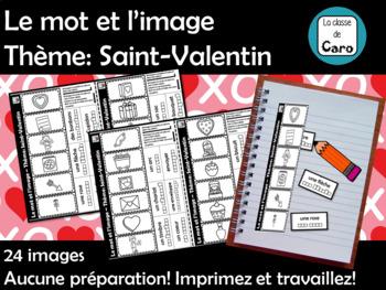 Le mot et l'image Thème: Saint-Valentin