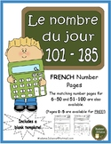Le nombre du jour 101-185 (French Number of the Day Pages