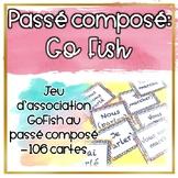 Le passé composé - Go Fish - Jeu de cartes