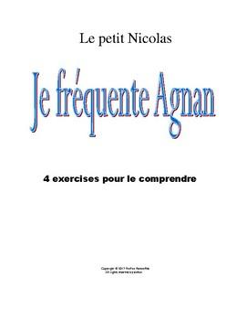 Le petit Nicolas- Je fréquente Agnan