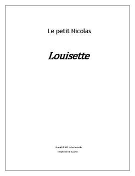 Le petit Nicolas - Louisette