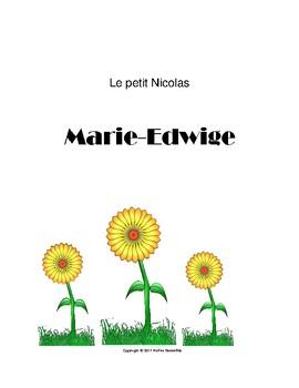 Le petit Nicolas- Marie-Edwige
