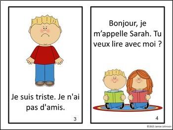 Le premier jour French Reader & timeline {First day of School en français}