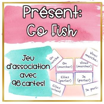Le présent - Go Fish - Jeu de cartes