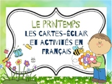 Le printemps: A spring-themed activity bundle in French