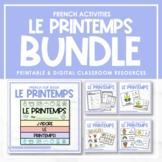 Le printemps - French Spring Activities Bundle