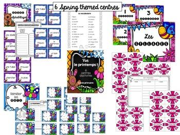 Le printemps-French Spring Literacy Centres