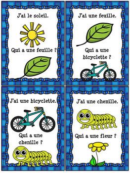 Printemps - J'ai...qui a...? - French Spring game