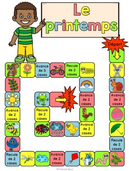 Le printemps - jeu de société - French Spring board game