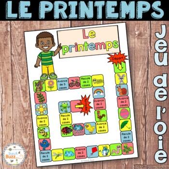 Le printemps - jeu de société - French Spring board game