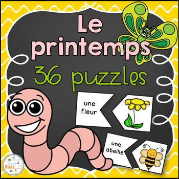 Printemps - puzzles/French Spring