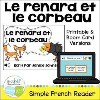Le renard et le corbeau ~ French Crow & the Fox Fable Read
