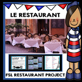 Le restaurant French FSL project
