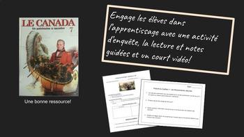 La religion en Nouvelle France (leçons et activités d'enquête)