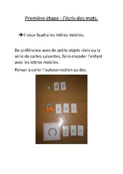 La série rose montessori au complet (français)