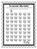 Le soccer des noms