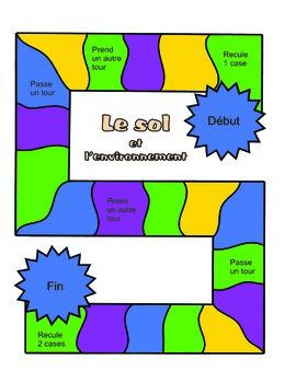 Le soil et l'environnement Board Game