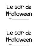 Le soir de l'halloween (halloween booklet) - en francais