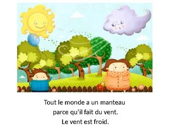 Le soleil et le vent French Screenshot BookTalk Presentation