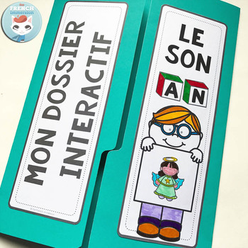 Le son AN  French Phonics Lapbook