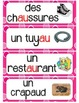 Le son AU (32 mots) - FRENCH Phonics High Frequency Words Word Wall