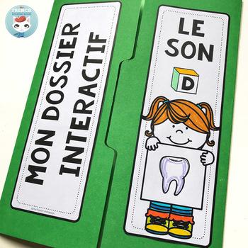 Le son D | La lettre D | French Phonics Lapbook