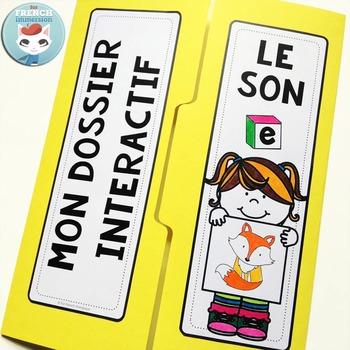 Le son E - French Phonics Lapbook