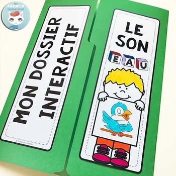 Le son EAU  French Phonics Lapbook