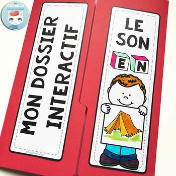 Le son EN  French Phonics Lapbook