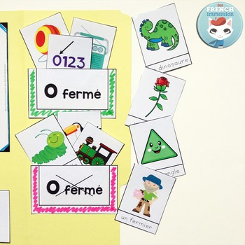 Le son O fermé - French Phonics Lapbook